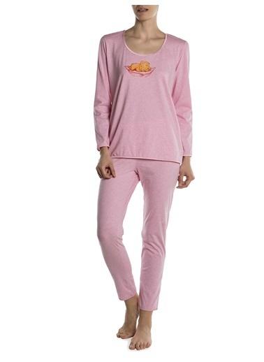 Doremi Kadın Pijama Takımı Pembe